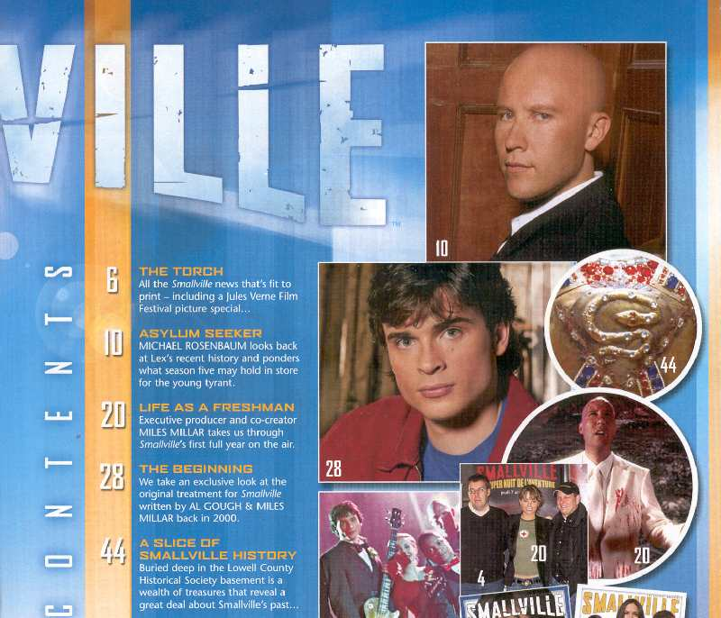 SMALLVILLE MAGAZINE OFFICIAL YEARBOOK 2005