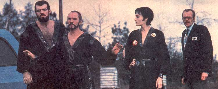 LOS TRES VILLANOS DE KRYPTON EN SUPERMAN II